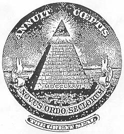 However This Symbol Of The All Seeing Eye Within A Pyramid Was Appropriated In 1776 By Illuminati Robert Hieronimus PhD Americas Secret Destiny