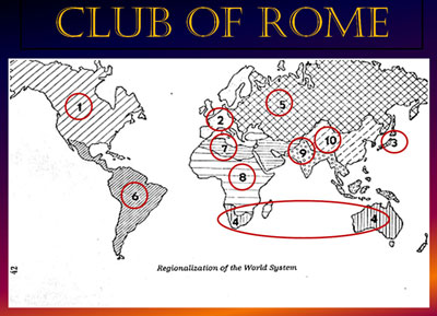 The Map On The Left Is From The Original Club Of Rome Writings But The Map On The Right Is Simpler And More Recognizable Supernation 7 For Example
