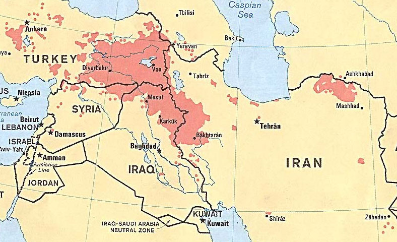 Iraq Now Splitting Into Three Nations Bible Prophecy Is