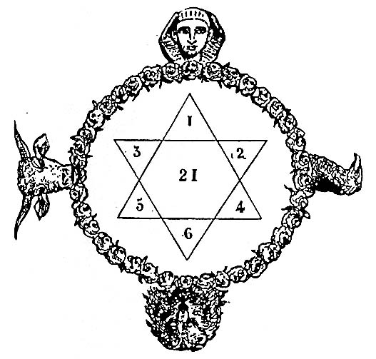 "... . 70 Seal of Solomon in""Magic Symbols"" by Frederick Goodman page 81"
