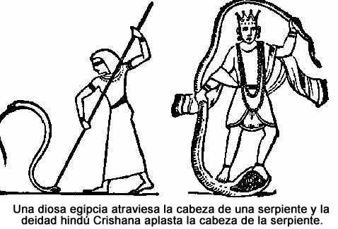 Culto católico a María paganismo precristiano. Woman_Serpents_Head
